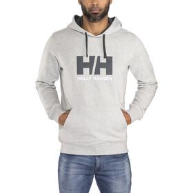 Helly Hansen HH Logo Felpa Uomo, grey melange